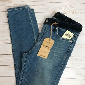 Lucky Brand Ava Skinny Blue Jeans Size 2/26 NWT
